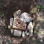 podzemní část úlku pro čmeláky