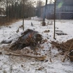 V zimě je potřeba občas hlínu rozehřát